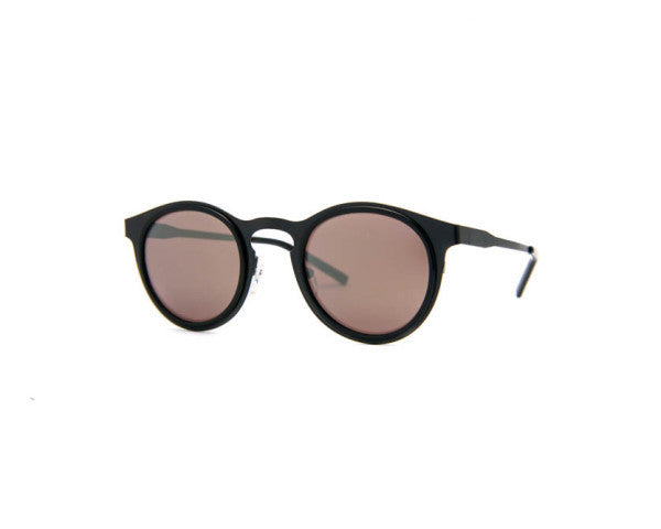 Kyme - Miki Light Black Rough Sunglasses