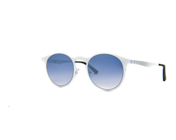 Kyme - Miki Run White Sunglasses