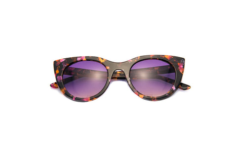 Kyme - Angel Marble Tortoise Sunglasses