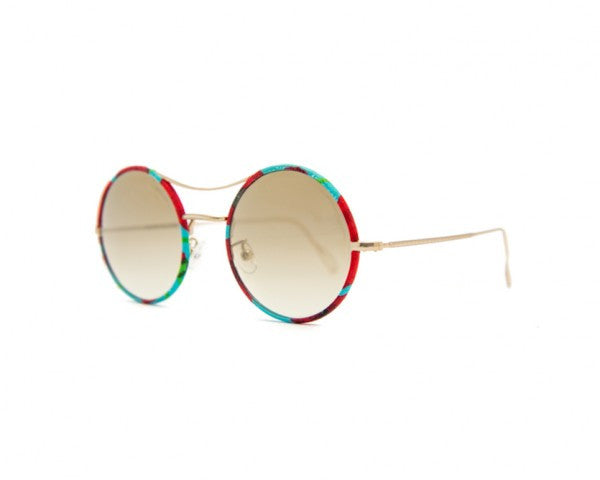 Kyme - Ros Piu High Papavero Sunglasses