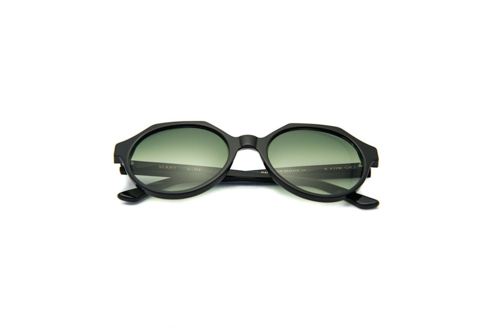 Kyme - Mary Black Bicolor Sunglasses