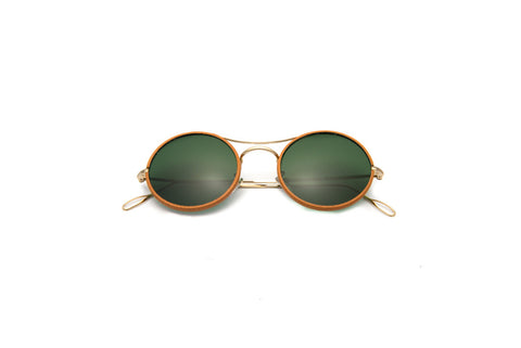 Kyme - Ros Piu High Green G15 Sunglasses