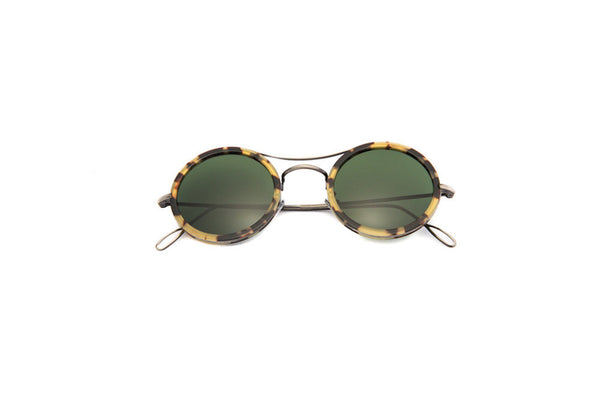Kyme - Ros Cell Rutenio Green G15 Sunglasses