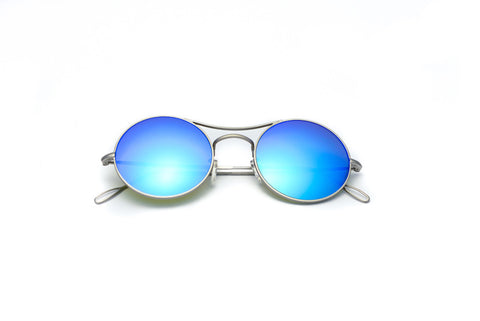 Kyme - Ros Sky Blue Sunglasses