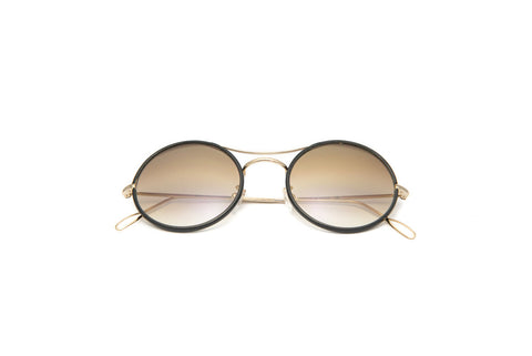 Kyme - Ros Piu High Flash Gold Sunglasses