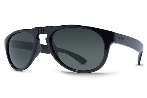 Dot Dash - Lil Gentry Black BKG Sunglasses, Retro Grey Lense
