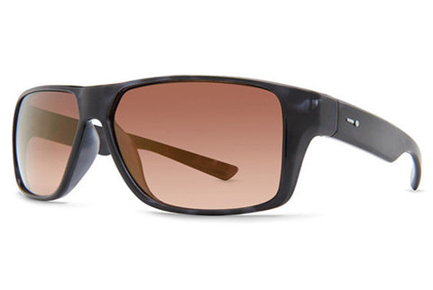 Dot Dash - Turbo Navy Tortoise Gloss NBO Sunglasses, Gold Chrome Lenses