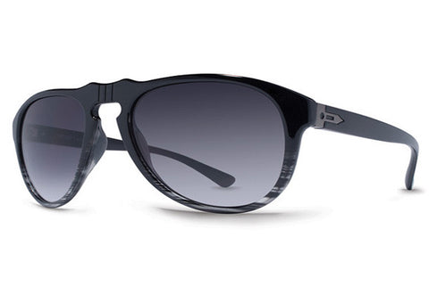 Dot Dash - Gentry Black Smoke Fade BSM Sunglasses, Gradient Lenses