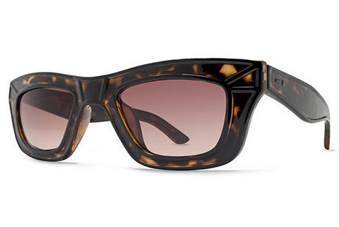 Dot Dash - Hacktivist Tortoise TBD Sunglasses, Brown Gradient Lense