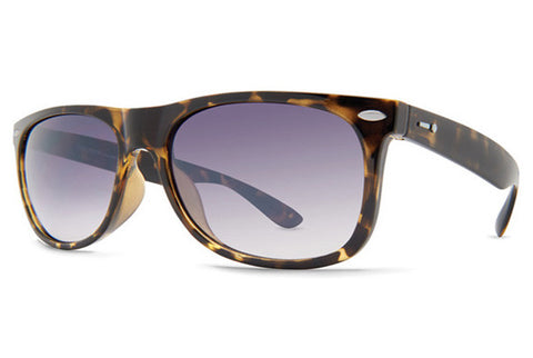 Dot Dash - Plimsoul Tortoise Gloss TUC Sunglasses, Blue Chrome Lenses