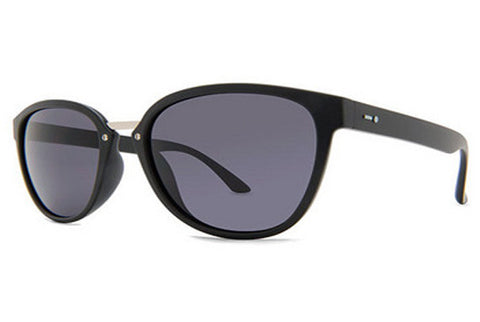 Dot Dash - Summerland Black Satin BKS Sunglasses, Grey Lenses
