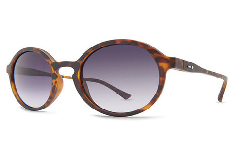 Dot Dash - Hullabaloo Tortoise Satin TSD Sunglasses, Grey Gradient Lenses