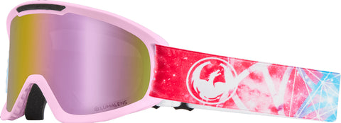 Dragon - DX2 Galaxy Snow Goggles / Pink Ion + Dark Smoke Lenses
