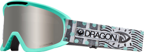 Dragon - DX2 New Wave Snow Goggles / Silver Ion + Dark Smoke Lenses