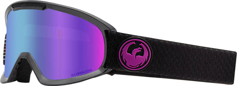 Dragon - DX2 Split Snow Goggles / Purple Ion + Amber Lenses