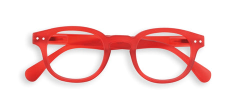 Izipizi - #C Red Crystal Reader Eyeglasses / +1.00 Lenses