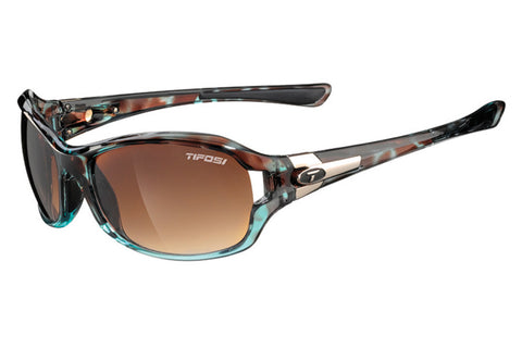 Tifosi - Dea SL Blue Tortoise Sunglasses, Brown Gradient Lenses