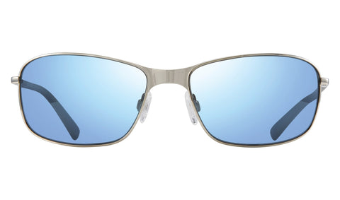 Revo - Decoy 60mm Chrome Sunglasses / Blue Water Polarized Lenses