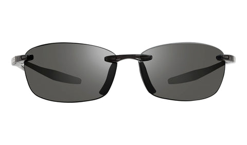 Revo - Descend E 64mm Black Sunglasses / Graphite Lenses