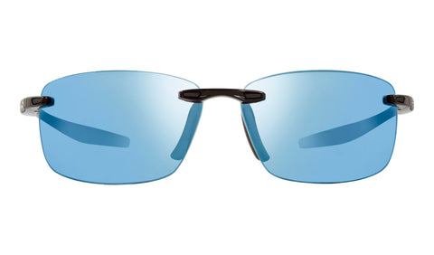 Revo - Descend N 64mm Black Sunglasses / Blue Water Lenses