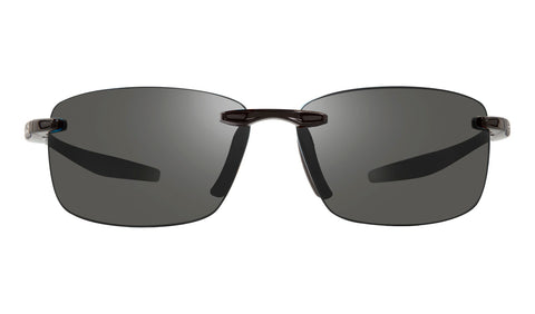 Revo - Descend N 64mm Black Sunglasses / Graphite Lenses