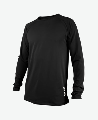 POC - Essential DH LS Carbon Black Jersey