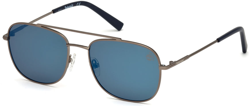 c554eb152e Timberland - TB9122 Matte Gunmetal Sunglasses / Smoke Polarized Lenses – New  York Glass