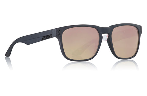 Dragon - Monarch Matte Black Iuna Sunglasses / Rose Gold Lenses