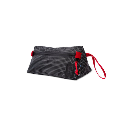 Topo Designs - Black White Ripstop Unisex  Dopp Kit