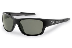 Flying Fisherman - Down Sea 7315 Matte Black Sunglasses, Smoke Lenses