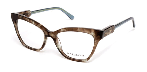 Marciano - GM0331 Havana Eyeglasses / Demo Lenses