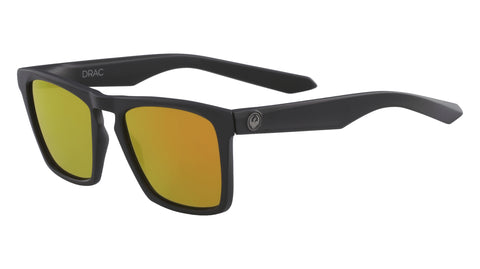 Dragon - Drac Ion Matte Black Sunglasses / Orange Ion Lenses