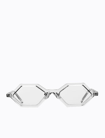 Poppy Lissiman - Drazic Clear Sunglasses / Clear Lenses
