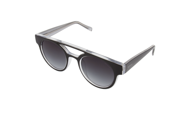 Komono - Dreyfuss Black Silver Sunglasses