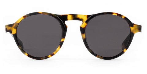 Westward Leaning - Dyad 0.9 Polished Sand Tortoise Acetate Sunglasses / Tinted Extra Black Lenses