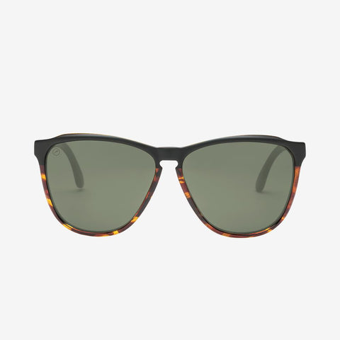 Electric - Encelia 55mm Darkside Tortoise Sunglasses / Black Gradient Lenses
