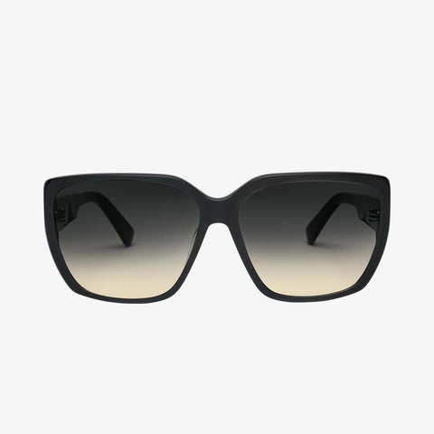 Electric - Honey Bee 50mm Gloss Black Sunglasses / Gradient Lenses