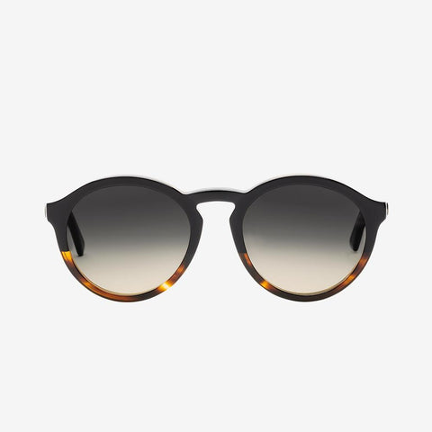 Electric - Moon 52mm Darkside Tortoise Sunglasses / Black Gradient Lenses