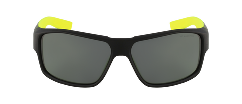 Nike - Reverse EV0819 Matte Black Volt Sunglasses / Grey Lenses