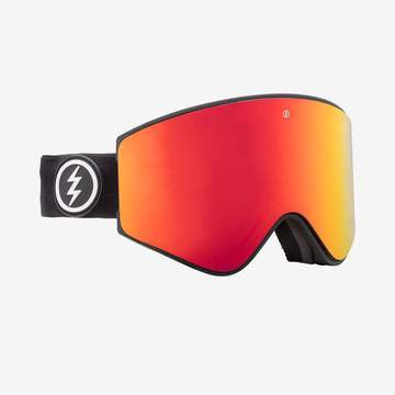 Electric - EGX Matte Black Snow Goggles / Brose Red Chrome Lenses