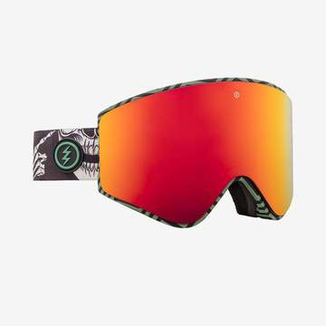 Electric - EGX Torgier Gregg Snow Goggles / Brose Red Chrome Lenses