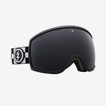 Electric - EGG Plain Checker Snow Goggles / Jet Black Lenses