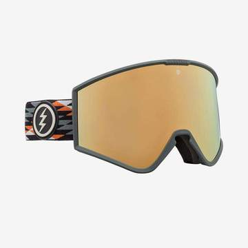 Electric - Kleveland Nuevo Rust Snow Goggles / Brose Gold Chrome Lenses