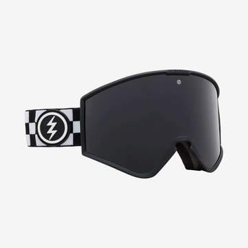 Electric - Kleveland Plain Checker Snow Goggles / Jet Black Lenses