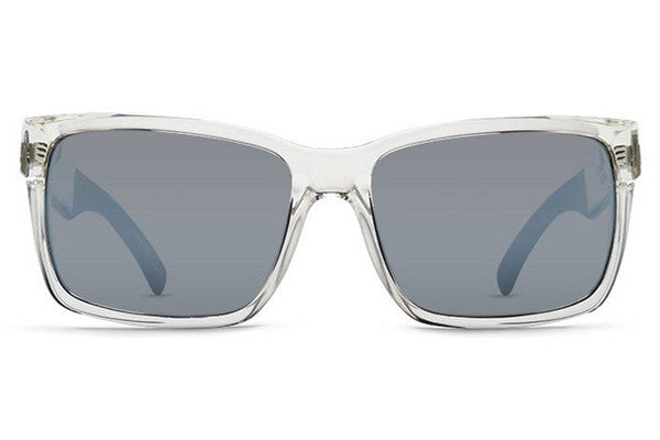 VonZipper - Elmore Crystal Black Rim KCC Sunglasses, Grey Chrome Lenses