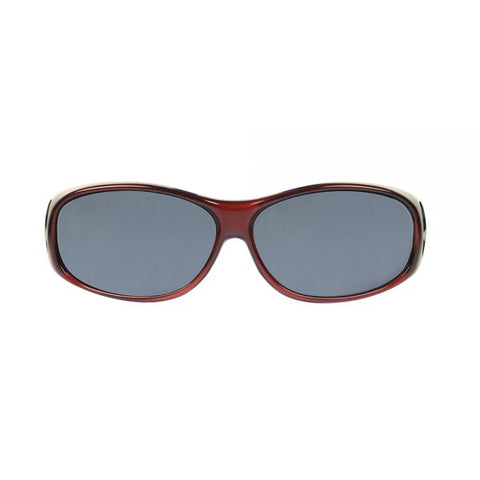 Jonathan Paul Fitovers - Element Claret Fitover Sunglasses / Polarvue Gray Lenses