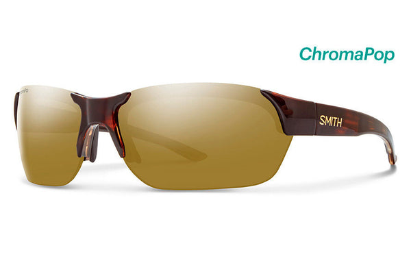 Smith - Envoy Tortoise Sunglasses, ChromaPop Polarized Bronze Mirror Lenses
