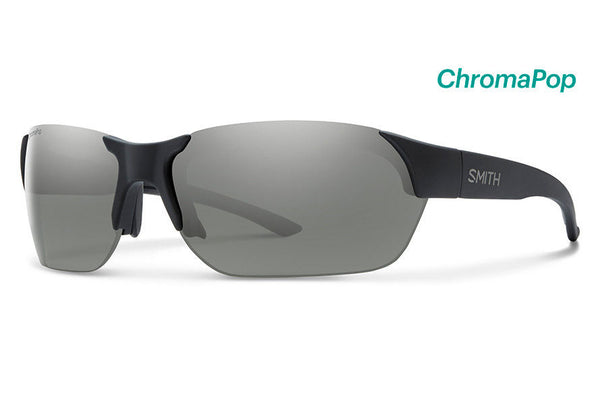 Smith - Envoy Matte Black Sunglasses, ChromaPop Polarized Platinum Lenses