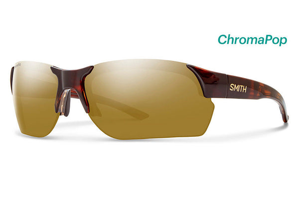 Smith - Envoy Max Tortoise Sunglasses, ChromaPop Polarized Bronze Mirror Lenses