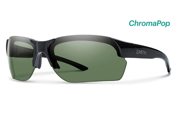 Smith - Envoy Max Black Sunglasses, ChromaPop Polarized Gray Green Lenses